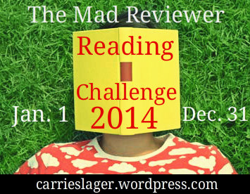 The Mad Reviwer Reading Challenge 2014