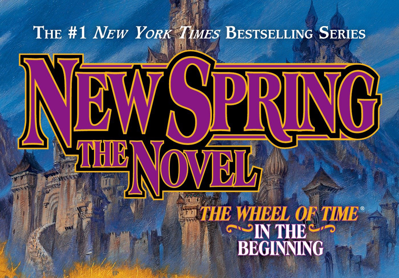 Wheel of Time New Spring Title
