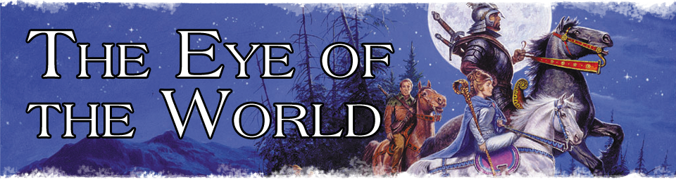 The Eye of the World by fantasy author, Robert Jordan